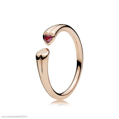 Offerte Pandora Online Two Cuores Anelli Pandora Rose Red