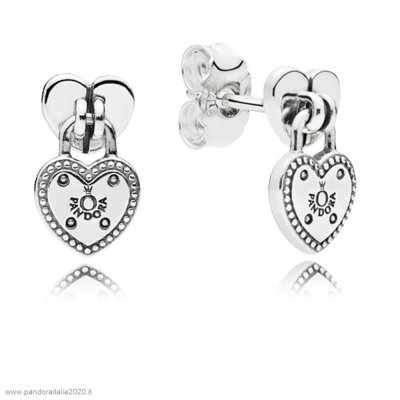 Offerte Pandora Online Amore Locks Stud Earrings