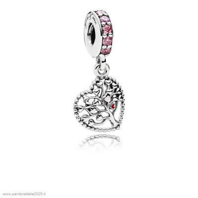Offerte Pandora Online Tree Of Amore Dangle Charm Mixed Enamel Multi Colored Cz